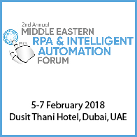 2nd RPA and Intelligent Automation Forum