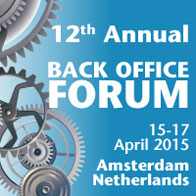 12th Back Office Forum